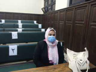 أول سيدة تتقدم بأوراق ترشحها لانتخابات مجلس الشيوخ بالاسكندرية