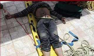 مصرع عامل وإصابة أثنين آخرين سقطو من أعلى سقالة ببني سويف