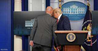 ترامب عقب إطلاق نار خارج البيت الأبيض : الأمر تحت السيطرة
