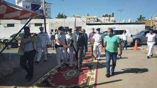 """حصري """"للميدان"""" مدير أمن البحر الأحمر يتفقد اللجان الانتخابيه لمجلس الشيوخ 2020"""