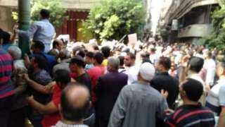 """زحام شديد لمرشحى """" النواب """"أمام محكمة الزقازيق الإبتدائية لتقديم أوراقهم (صور)"""