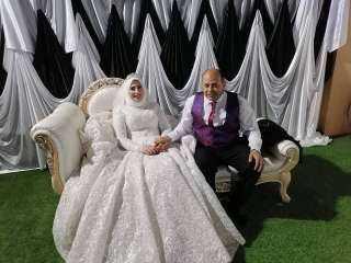 بقاعة الياسمين ببيلا.. الدكتور رجب المعداوى يحتفل بزفافه على الدكتورة سماح أمين