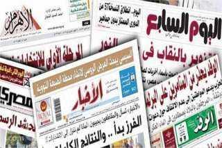نشاط السيسي ومساعدة مصر للأشقاء في السودان يتصدر اهتمامات الصحف