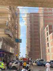 طبيبة تحرق شقة زوجها أثناء تواجده مع أطفاله وزوجته الثانية داخل مسكنهما بالشرقية