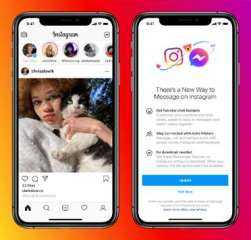 طرح ميزات مراسلة جديدة على Instagram