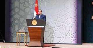 الرئيس السيسي في ذكرى مولد النبي: سلام على من حمل الرسالة وأدى الأمانة