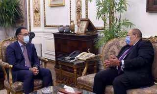 لقاء رئيس الوزراء بالمدير التنفيذى لصندوق النقد الدولي فى الدول العربية حول دعم الملفات الاقتصادية فى المرحلة المقبلة
