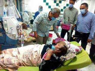 وكيل صحة بالبحر الأحمر يتفقد مستشفى الغردقة العام ويهنئ جميع العاملين