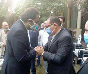 محافظ الشرقية يؤدي واجب العزاء في وفاة والد النائب أحمد صلاح الطاروطي عضو مجلس الشيوخ