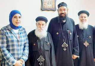 قشطى تهنئ الطائفة الكاثوليكية في مصر بعيد الميلاد المجيد