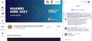 «هواوي تكنولوجيز» تطلق معرضها الافتراضي HiRE 2021 لتوظيف المواهب الشابة