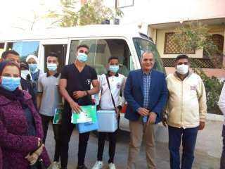 وكيل وزارة الصحة بالبحر الأحمر يتابع فاعليات اليوم الثاني تطعيم ضد شلل الأطفال