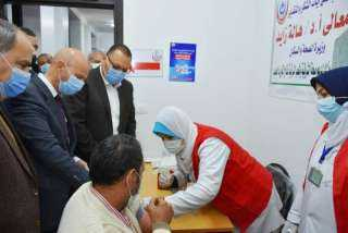 إنطلاق فاعليات تطعيم أصحاب الأمراض المزمنة وكبار السن ﺒ لقاح كورونا بالشرقية (صور)