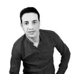 هلال في السماء جديد الفنان محمد الدعيسات