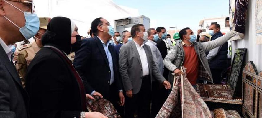 """رئيس الوزراء يبدأ جولة تفقدية بمحافظة المنوفية بمتابعة مبادرة الرئيس """"حياة كريمة""""طض"""