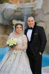 نجوم الفن والاعلام في حفل زفاف عمرو صحصاح