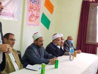 """فى يوم الوفاء احتفلت المنطقه الأزهرية لتكريم وكيل الوزارة """" أبو زيد """" لبلوغه السن القانونية للمعاش"""