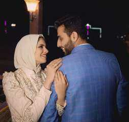 الميدان يهنئ الدكتور أحمد زرزور بالخطوله السعيد علي العروسه ندي احمد