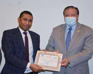 المجلس الأعلى للثقافة يكرم الكاتب الصحي أشرف التعلبي لفوزه بجائزةالرواية في مسابقة المواهب الأدبية