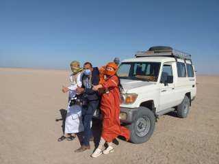 """""""كين وفيورلا"""" أصحاب شركة سياحه صينيه في زياره للغردقه لتنظيم رحلات لمصر"""