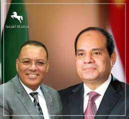 محافظ الشرقية يٌهنئ الرئيس عبد الفتاح السيسى بمناسبة الإحتفال بالذكري الـ 39 لأعياد تحرير سيناء