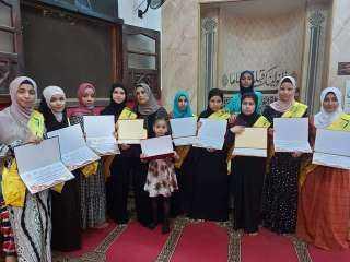حفل لتكريم حفظة القرأن الكريم بقرية الحي بمركز الصف جنوب الجيزة