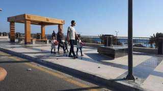 مرور البحر الاحمر غلق الممشي السياحي وفتح الكورنيش لمرور السيارات ومنع دخول رحلات اليوم الواحد للمحافظه