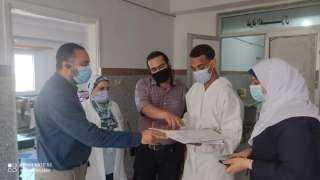 فرق من الإدارات الفنية لمتابعة العمل بمستشفيات البحر الأحمر خلال أيام العيد