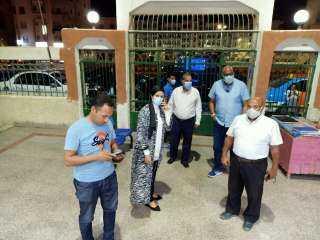 المغربي تتابع الإجراءات الاحترازية لمواجهة كورونا بمستشفى سفاجا المركزي