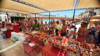 مهرجان البطيخ ينعش السياحه بقرى والمنتجعات بصن ريز الغردقة بعيدالفطر