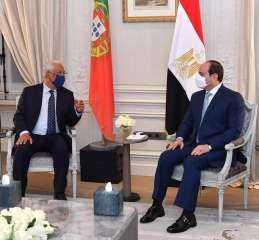 """البرتغال : """"مصر اصبحت مثال ونموذج ملهم للاستقرار والتنمية في المنطقة"""