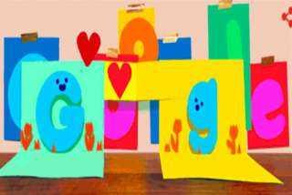 جوجل يحتفل بعيد الأب ويغير شعاره