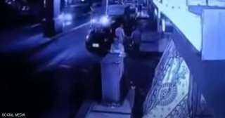 سقوط السيارة من أعلى كوبري 6 أكتوبر