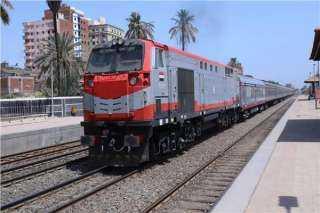 """السكة الحديد : تأخير القطارات بين """"بنها وبورسعيد"""" 35 دقيقة"""