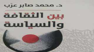 """""""بين الثقافة والسياسة"""" .. إصدار جديد لصابر عرب"""
