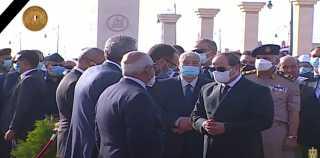 السيسي يتقدم جنازة عسكرية للمشير طنطاوي