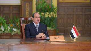 السيسي: العلاقة بين مصر وقارة أفريقيا يجب أن تكون متبادلة وتشمل احترام حقوق مصر المائية
