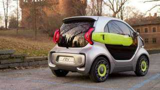 quot;إكس إي فيquot; تستعرض سيارتها الكهربائية الصغيرة للتنقل بين المدن المزدحمة