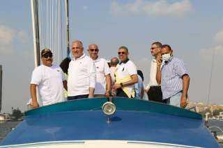 وزير الري يعطي إشارة البدء لفعاليات كأس الشهيد زكريا كمال للمراكب الشراعية