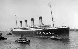 الذكرى 106 لحادث غرق سفينة تيتانيك